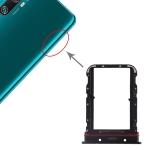 SIM Card Tray + SIM Card Tray for Xiaomi Mi CC9 Pro (Black)