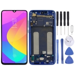 Original LCD Screen and Digitizer Full Assembly with Frame for Xiaomi Mi CC9(Blue)
