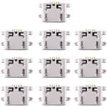 10 PCS Charging Port Connector for Xiaomi Redmi Note 5 / Redmi Note 5 Pro