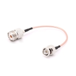 UHF SO239 Female To BNC Male RG316 Connecting Cable, Length: 15cm