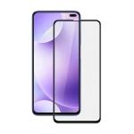 10PCS For Xiaomi Redmi K30  mocolo 0.33mm 9H 2.5D Full Glue Tempered Glass Film(Black)