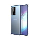 For Galaxy S11 Plus Four-corner Shockproof TPU + PC Protective Case(Blue)