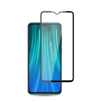 For Xiaomi Redmi Note 8 10PCS mocolo 0.33mm 9H 2.5D Full Glue Tempered Glass Film(Black)
