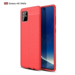 For Galaxy A81 / M60s Litchi Texture TPU Shockproof Case(Red)