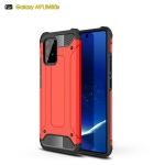 For Galaxy A91 / M80s Magic Armor TPU + PC Combination Case(Red)