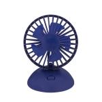 USB Charging Fan 90 Degree Rotating Ball Desktop Fan(Navy Blue)