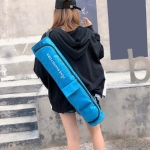 Portable Yoga Mat Bag Carrier Casual Shoulder Sport Bags(Blue)