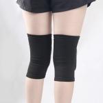 Black Children Thick Anti-collision Sponge Knee Pads Sports Protective Gear, SIZE:M