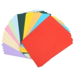 100 Sheets A4 Color Printing Paper Children DIY Handmade Origami Paper Cutting (10 Colors)