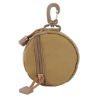 Multifunctional Waterproof Wallet Outdoor Camping Key Coin Small Wallet(Khaki)