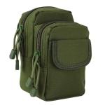 Small Pocket Gadget Belt Waist Bag Phone Bag Holster(Army Green)
