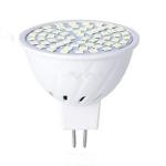 Spotlight Plastic Corn Light Household Energy-saving SMD Small Light Cup LED Spotlight, Number of lamp beads:48 beads(MR16-White)
