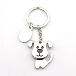 2 PCS Creative Shaking Dog Keychain Bag Pendant Small Gift(Shaking Dog)
