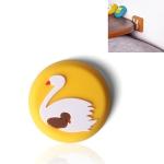 10 PCS Crash Pad for Wall Door Handle Silicone Cushion Pad(Swan)
