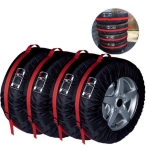 4 in 1 Waterproof Dustproof Sunscreen Car Tire Spare Tire Cover, Size:S