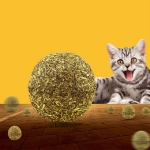 Cat Mint Ball Interactive Training Toy Cat Supplies