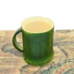 Natural Green Environmental Protection Bamboo Drinking Water Tea Cup Creative Gift Cup, Capacity:201-300ml(Green)