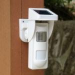 SVG-40 IP65 Waterproof Solar Powered Wireless Human Body Infrared Detector Danger Scene Sound and Light Alarm