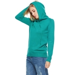 Women Round Neck Long Sleeve Pullover (Color:Green Size:One Size)