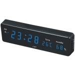 Combinatorial Alarm Clock Practical Digital Hanging Dual-purpose LED Clock (Blue)