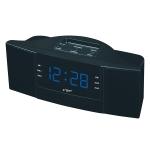 Clock Controlled Radio LED Clock AM / FM Digital Gift (Blue)