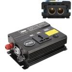 300W DC 12V to AC 220V Car Multi-functional 4488 Smart Power Inverter(Black)