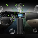 E-F2 Car Anion Air Purifier + Humidifier with Fragrance
