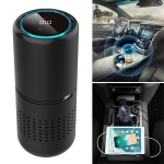 E-F1 Car Anion Air Purifier USB Aromatherapy HEPA Car Air Purifier with Panel Gesture Control