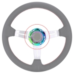 Car Colorful Steering Wheel Horn Button Push Cover