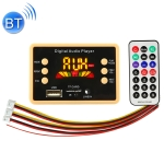 Car 5V Color Screen Audio MP3 Player Decoder Board FM Radio TF Card USB, with Bluetooth Function & Remote Control