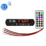 Car 5V 2x3W Audio MP3 Player Decoder Board FM Radio TF USB 3.5mm AUX, with Bluetooth / Recording Call Function / Power Amplifier / Remote Control