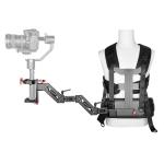 YELANGU B300 Three-axis Shock-absorbing Arm Vest Stabilizing Camera Support System Easy Rig for DSLR & DV Digital Video Cameras (Black)