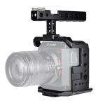 YELANGU C11 Handle Video Camera Cage Stabilizer for Z CAM E2 (Black)