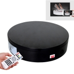 20cm Control Adjusting Speed 360 Degree Electric Rotating Turntable Display Stand Video Shooting Props Turntable for Photography, Load 20kg, US Plug (Black)