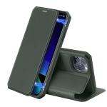 iPhone 11 Pro DUX DUCIS Skin X Series PU + TPU Horizontal Flip Leather Case with Holder & Card Slots(Dark Green)