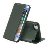 For iPhone 8 & 7 DUX DUCIS Skin X Series PU + TPU Horizontal Flip Leather Case with Holder & Card Slots(Dark Green)