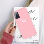 For Galaxy A51 Little Pig Pattern Frosted TPU Protective Case(Pink)