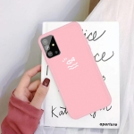 For Galaxy S11 Little Fish Pattern Frosted TPU Protective Case(Pink)