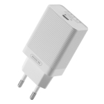 WK WP-U76 Lochon Series 18W PD Single Port Quick Charging Travel Charger Power Adapter, EU Plug