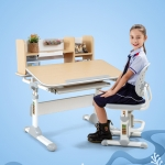 AU900(N) Multifunctional Lifting Plastic Children Study Table and Chair Set