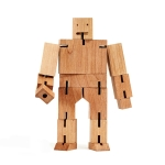 Magic Cube Robot DIY Puzzle Toys Wooden Building Blocks Educational Game for Children