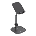 Baseus Portable Adjustable Aluminium Alloy Desktop Holder Bracket, Telescopic Version(Black)