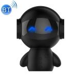 M10 Multi-function Mini Robot USB Charging Wireless Bluetooth Speaker Power Bank (Black)
