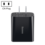 Baseus Speed Mini Series 18W Single USB Quick Charger, CN Plug(Black)
