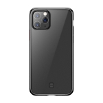 For iPhone 11 Pro Max TOTUDESIGN Soft Jane Pro Series Shockproof Electroplating TPU Protective Case (Black)