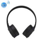 WK BP300 Bluetooth 4.2 Stretchable Foldable Wireless Bluetooth Headset with 3.5mm AUX Jack, Support calls (Black)