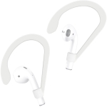 1 Pair IMAK For AirPods 1 / 2 Wireless Earphones Silicone Anti-lost Lanyard Ear Hook (White)