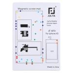 JIAFA JF-870 Magnetic Pad Screw Board for iPhone XS