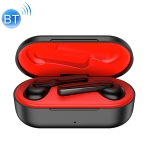ROCK EB71 TWS Bluetooth 5.0 IPX4 Waterproof Wireless Stereo Bluetooth Earphone (Black)