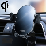 JOYROOM JR-ZS200 Hornet Series Qi Standard Air Outlet Wireless Induction Charging Car Bracket (Black)